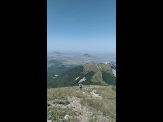 Вид с горы Бештаю август 2018