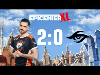 Virtus.pro 2:0 Team Secret, bo3. Групповой этап EPICENTER XL