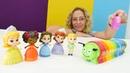 Nicoles Spielzeug Kindergarten. Die Zahlen lernen mit Prinzessinnen