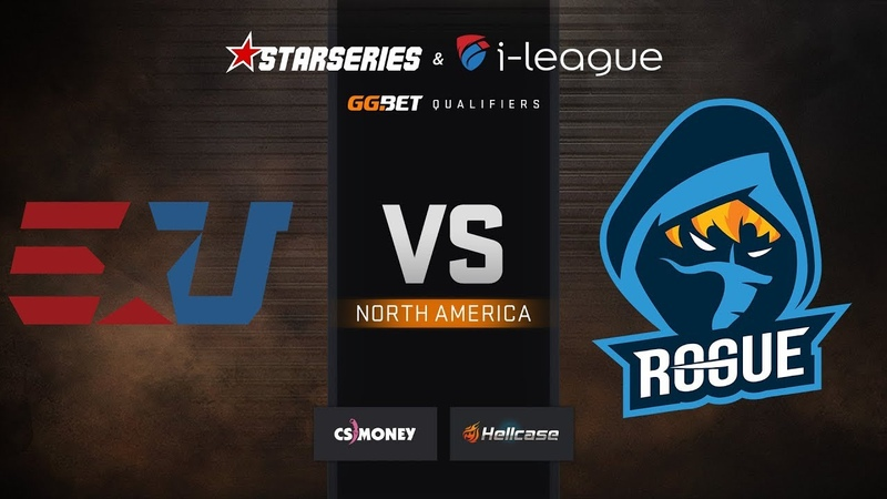EUnited vs Rogue, map 1 Dust2, StarSeries i-League S7 GG.Bet NA Qualifier