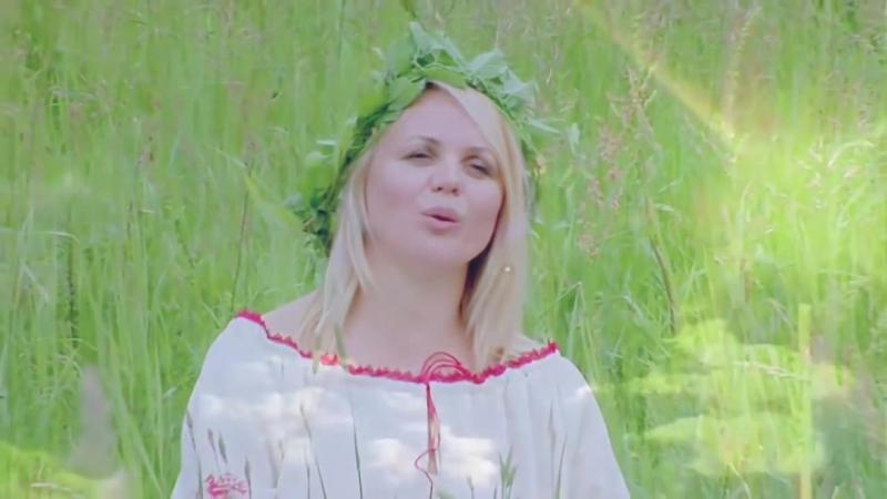 Елена Комарова группа Калина Фолк - За тихой рекою.Официальное видео
