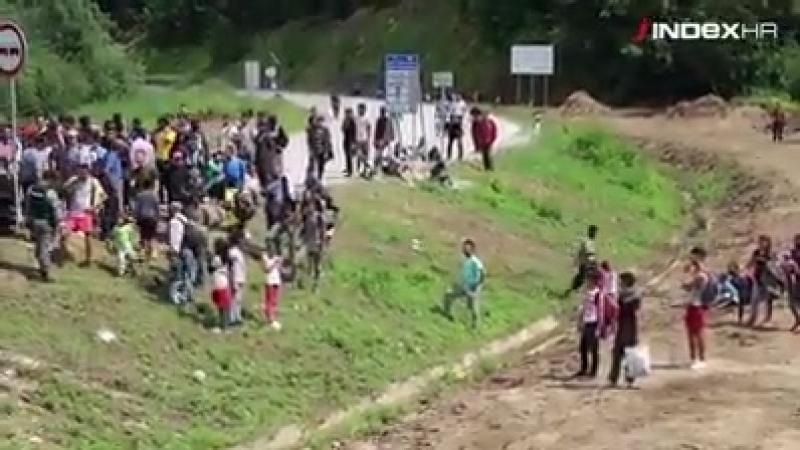 EU Außengrenze Kroatien aktuell