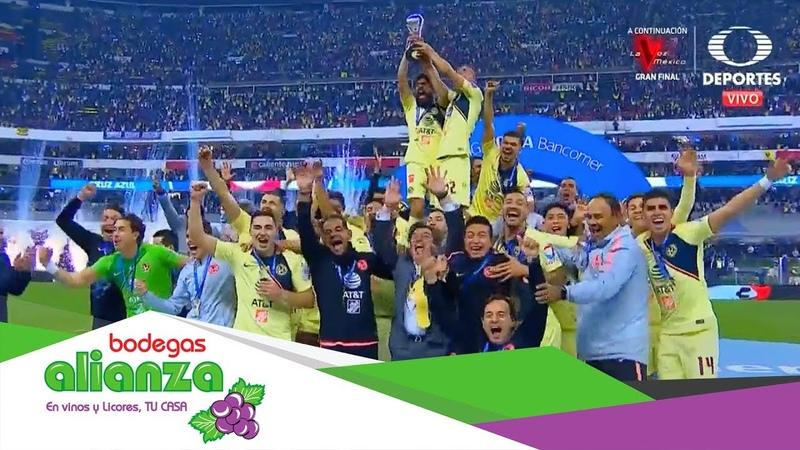 Mexico I ¡América Campeón Cruz Azul 0 2 América Final Apertura 2018