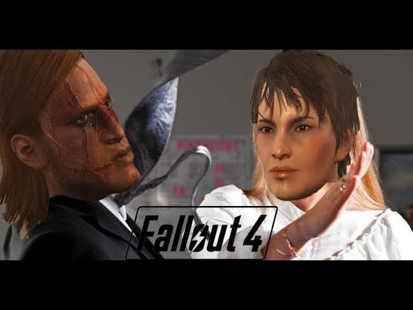 Фоллачуем-челленджуем 1 Проблема женского насилия в фолыче (Fallout 4 Challenge)