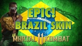 Epic Brazilian Johnny Cage Skin and Kano Gameplay