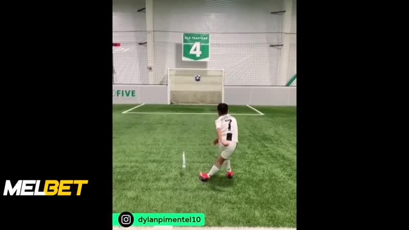 Роналду повторил трюк Месси
