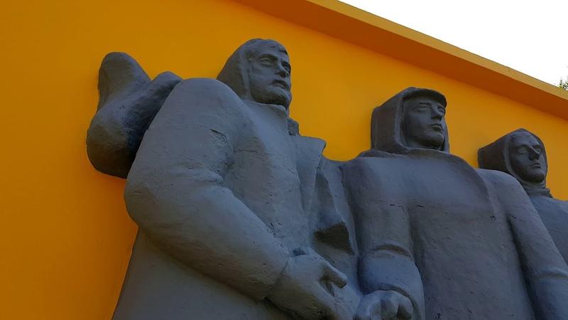 Теперь он жёлто серый 📹 Северодвинск