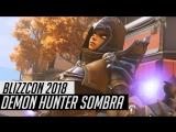 New sombra skin Demon Hunter