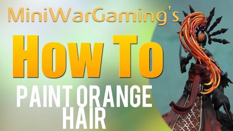 Как покрасить рыжие волосы (How To: Paint Orange Hair)