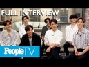 K Pop Group GOT7 Reveal Fan Stories Surprise Facts Play 'Confess Sesh' In Interview PeopleTV