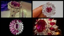 Engagement Ruby Rings/Beautiful Ruby Rings/Ruby Gold Ring Designs/Antique Ruby Rings