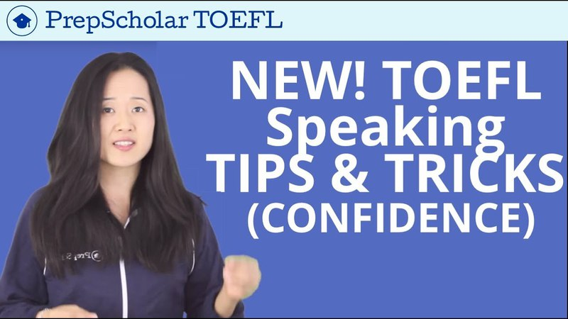 NEW Tips and Tricks for TOEFL Speaking | Confidence