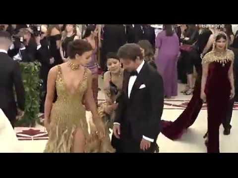 Bradley Cooper Irina Shayk look loved up at the 2018 Met Gala