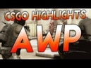 AWP highlight ace ct 2x, ace T , 2 vs 4 - 4frags, 1 vs 3