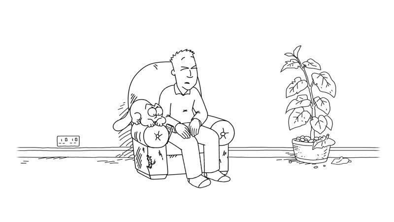 82. Simon's Cat – Armchair Fan
