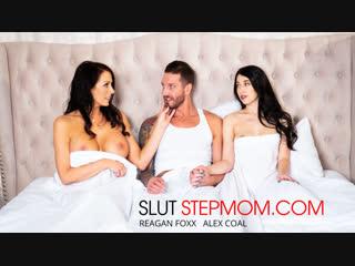 Alex coal, reagan foxx - slut stepmom [naughtyamerica. incest threesome]