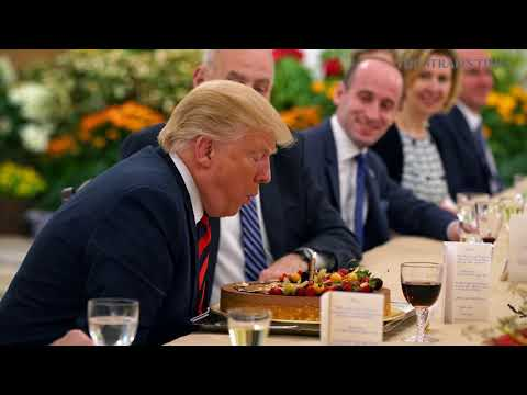 Trump-Kim summit Early birthday celebrations and lunch for Donald Trump