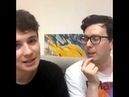 Dan's younow ft. Phil (September 27th 2018)