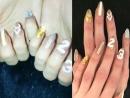 Mei ha realizzato questa fantastica manicure su Gigi per celebrare il suo golden birthday Happy23rdBirthdayGigi