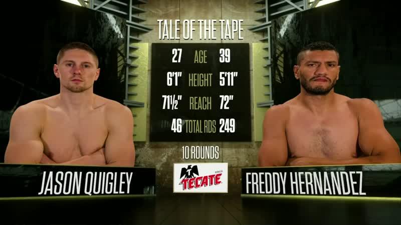 Jason Quigley vs Freddy Hernandez (HD 1080)