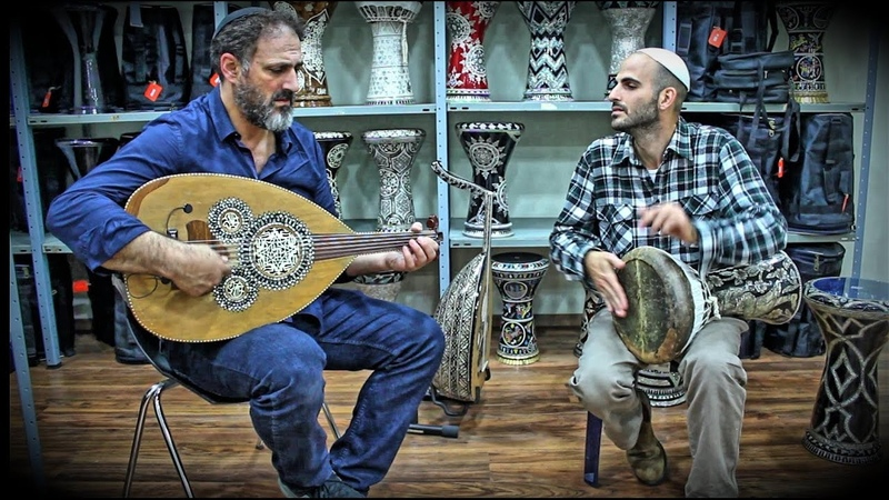 Solo Oud and Ceramic Darbuka - Arab Instruments Online Shop