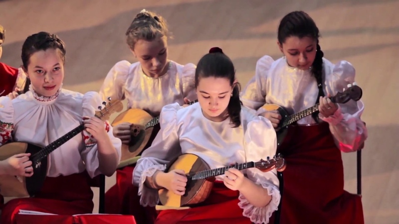 Концерт оркестра русских народных инструментов Веснушки