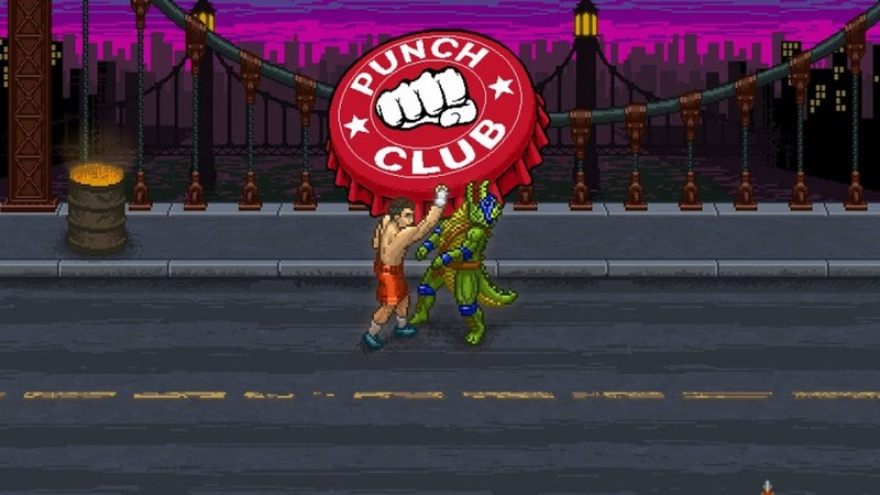 Punch Club (Switch) First 20 Minutes on Nintendo Switch - First Look - Gameplay ITA