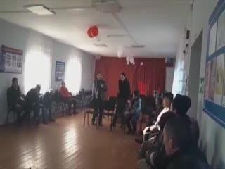 Учалы районы Абҙаҡ ауылы.Егеттәр йыйыны!