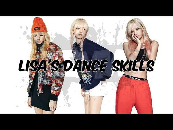 Blackpink Lisas dance skills   ICEN
