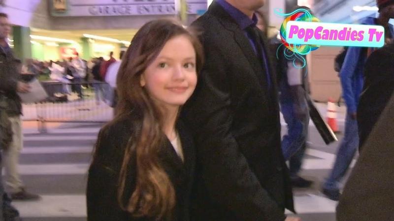 Mackenzie Foy departs Twilight Breaking Dawn 2 After Party in LA