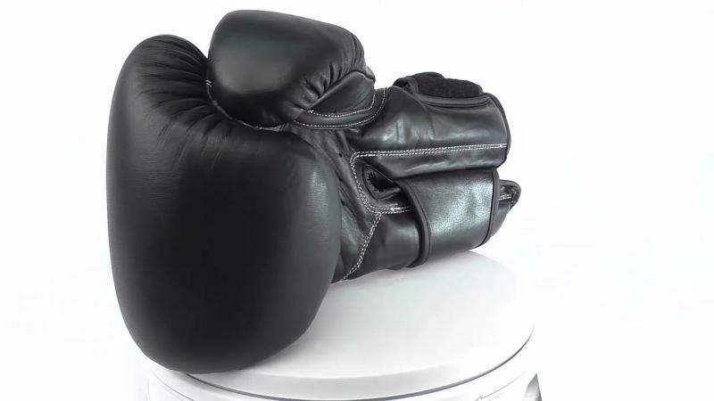 Перчатки для бокса UFCReebok LEATHER TRAINING GLOVE.mp4