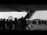 Zeppelin LZ 129 Hindenburg lands at Lakehurst Naval Air Station, New Jersey. Pass...HD Stock Footage