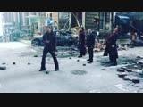 Видео со съемок «Войны Бесконечности»