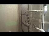 Ремонт квартир в Вологде. Осановский проезд. 2-комнатная, 50 м2. Выполнено новая разводка труб, замена полотенцесушителя, элект
