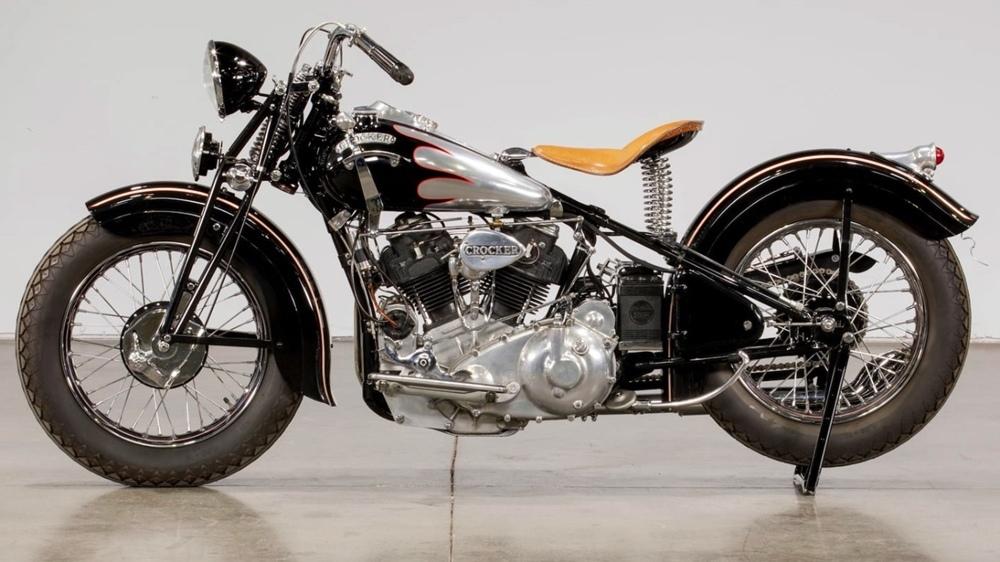 Аукцион Mecum: мотоцикл Crocker Big Tank 60 cui 1939 ушел за 704 000 долларов