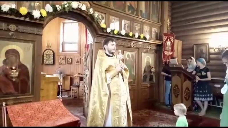 14 07 18 Проповедь в день памяти Св Косьмы и Дамиана Иерей Димитрий Попов