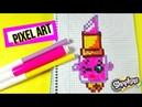 Shopkins pintalabios Pixel Art