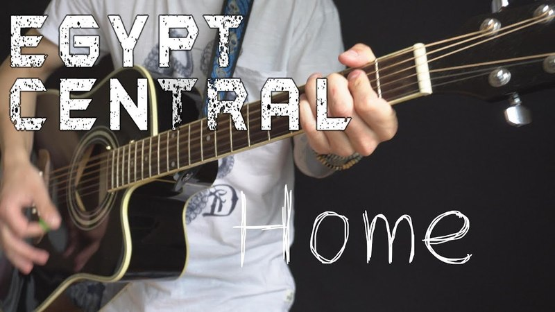 Egypt Central - Home (acoustic guitar / vocal cover by Dmitry Klimov)