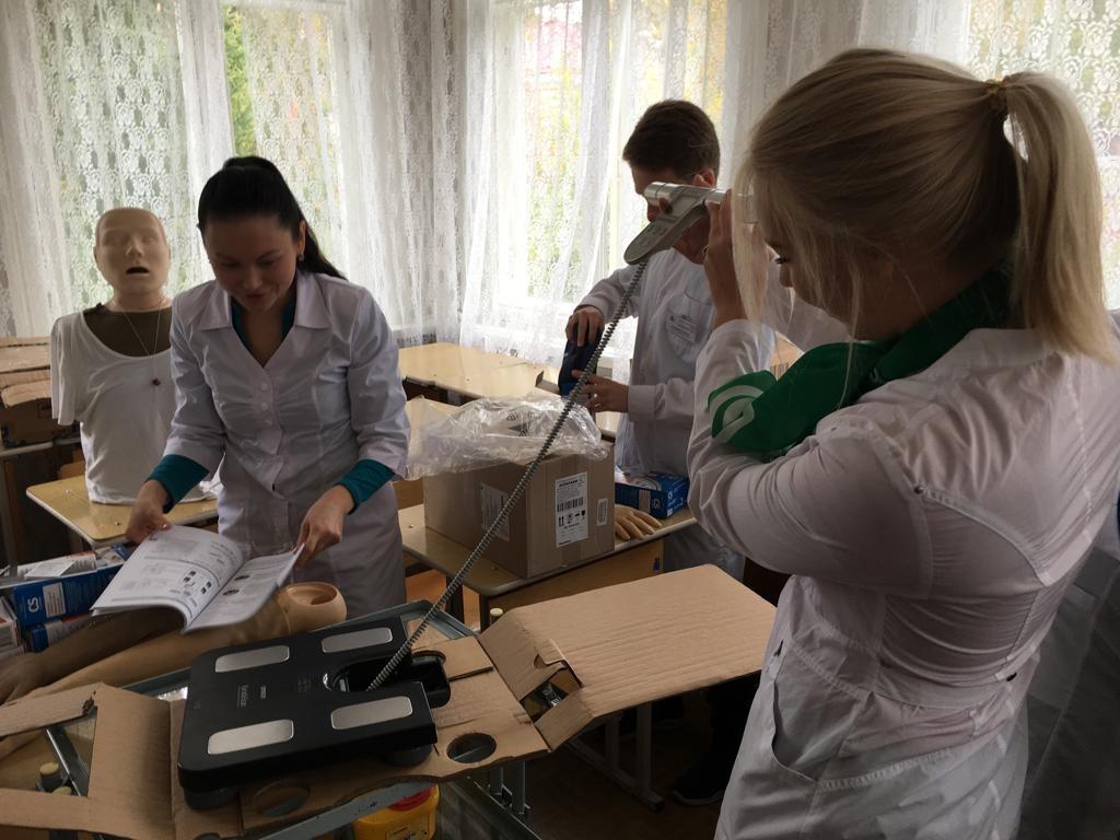 Новое оборудование для студентов-медиков