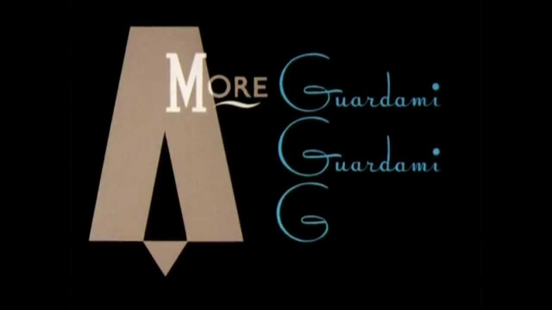 Amore Baciami (Full version) Kinetic typography