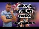 10 по 10 Лучшая схема для развития выносливости от лаборатории Селуянова