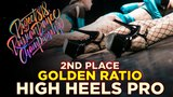 GOLDEN RATIO, 2ND PLACE HIGH HEELS