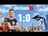 Virtus.pro 1:0 Team Secret, bo3. Групповой этап EPICENTER XL