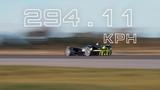 Testing the top speed limits of an autonomous race car Go Robocar Go