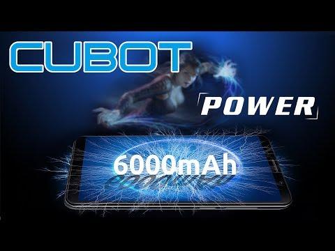 Cubot Power - мощный смартфон с емкой АКБ 6000 мАч