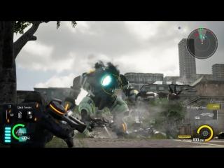 Earth Defense Force: Iron Rain - геймплейный ролик