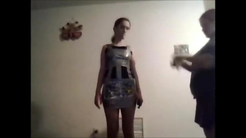 Duct Tape Dress Challenge