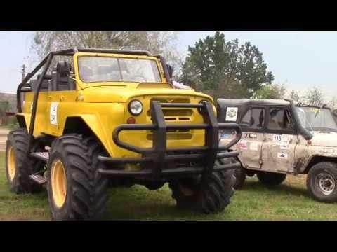 УАЗ МАЛЫШ переросток - монстр, шасси ГАЗ-66, двигатель scania