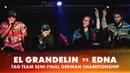 EL GRANDELIN vs EDNA TAG TEAM SEMI FINAL German Beatbox Championship 2018
