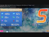 osu! - Cascada - Why You Had To Leave (Nightcore Mix) - FC - About a Tragic Love difficulty